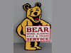 BEAR WHEEL ALIGNING SERVICE Sign