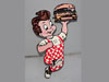 BIG BOY Hamburger Man Display Sign