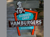 BURGER CHEF HAMBURGERS Restaurant Sign