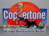 COPPERTONE Suntan Lotion Sign With Girl & Dog