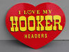 HOOKER HEADERS Muscle Car Heart Sign
