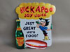 Al Capps KICKAPOO JOY JUICE Diecut Sign w/ Hillbillies
