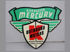Kiekhaefer MERCURY OUTBOARD Motor Boat Shield Sign