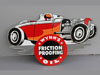 WYNNS RACING Diecut Race Car Sign