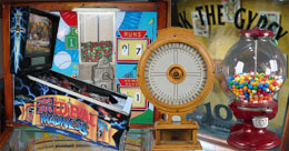 Coin Operated Machines and Pinball Machines